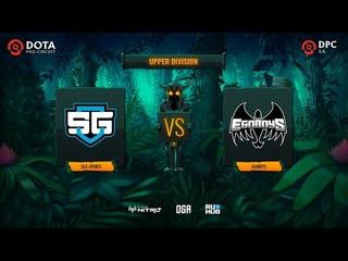 SG e-sports vs EgoBoys, Dota Pro Circuit 2021: S1 - SA, bo3, game 2 [Inmate & Eiritel]