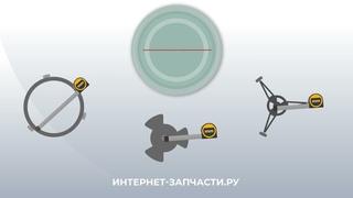 Инструкция по подбору вращающегося поддона микроволновой (СВЧ) печи видео