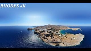 RHODES 4K (о. Родос, Греция 4К)