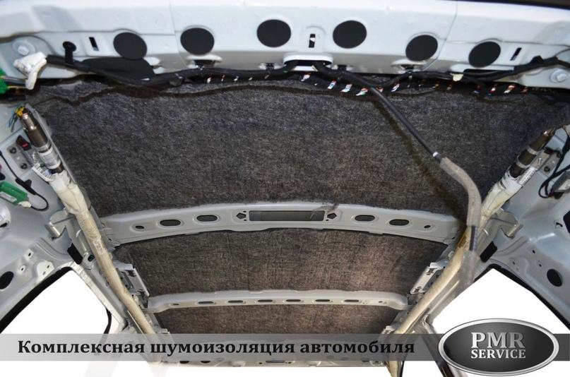 Комплексная шумоизоляция Land Rover Freelander 2, изображение №4