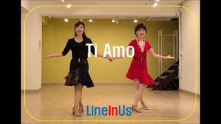 Ti Amo Line Dance (Dance & Count) [LineInUs]