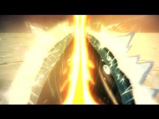 Fate_Zero - Saber kills Caster (Excalibur scene)
