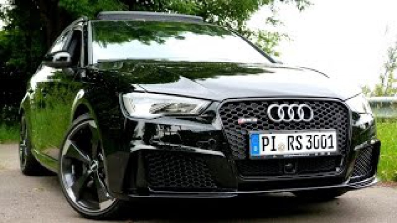 Testbericht AUDI RS3 2015 Road Test Drive Video Review EngineReport