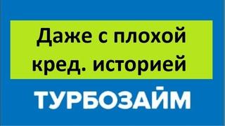 Отзывы МФО Турбозайм   быстрое одобрение  Дают даже с плохой кредитной историей  Россия