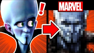 Drawing MEGAMIND in a MARVEL STYLE???