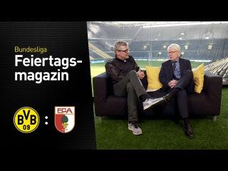 Das Feiertagsmagazin mit Dr. Reinhard Rauball | BVB - FC Augsburg