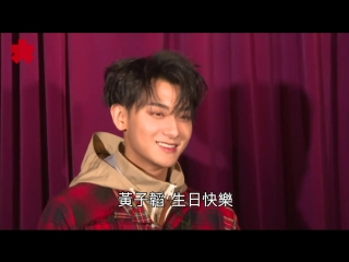 180502 ztao @ wax figure unveiling at madame tussauds in hongkong