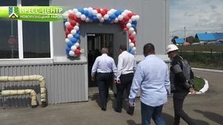 Открытие газовой котельной в п. Металлургов