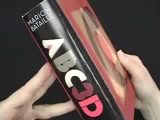 Букварь в технике Pop-up / ABC 3D / Дизайнер Marion Bataille