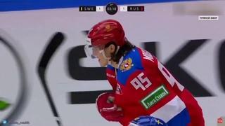 Данила Моисеев: первый гол в дебютном матче за сборную России ()