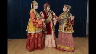 Мастер-класс «Татарский женский костюм середины 19 века»