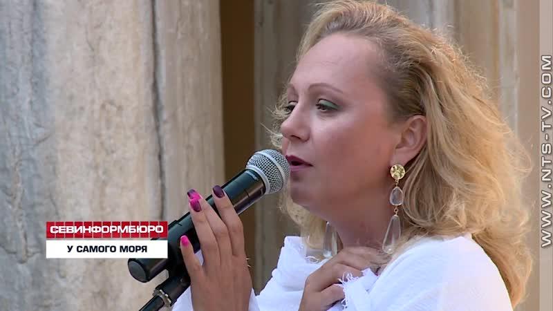 Людмила Татарова-Джигурда на открытии выставки,посвящённой 130-летию Анны Ахматовой