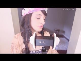 ASMR Cherry Crush - ASMR Slow Breathing  Tongue Clicking Accents Russian English   Cherry Crush - YouTube