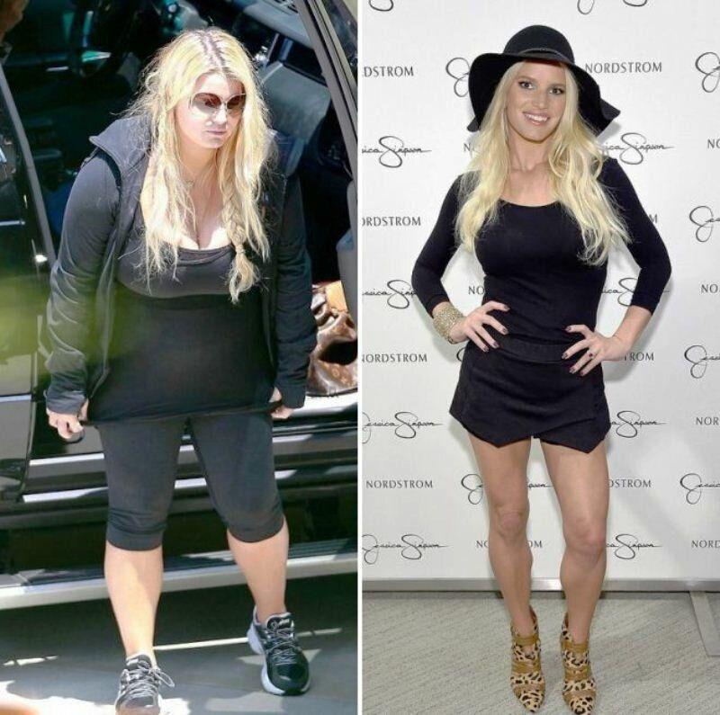Джессика Симпсон минус 45 килограмм