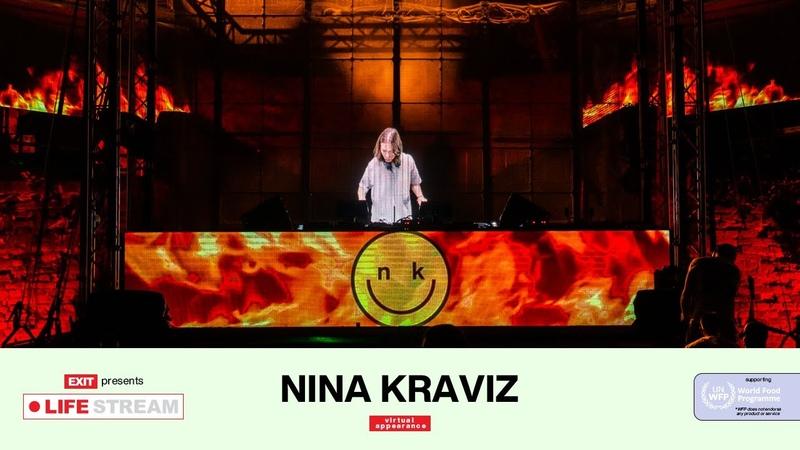 Nina Kraviz Live @ EXIT LIFE STREAM 2020