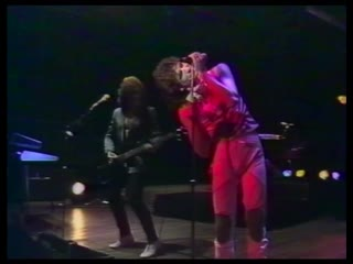 Saga - on the loose live french tv show - 1982