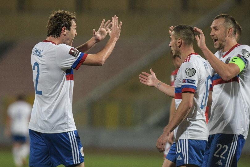 Россия обыграла Мальту в матче отборочного турнира ЧМ-2022 (Видео)
