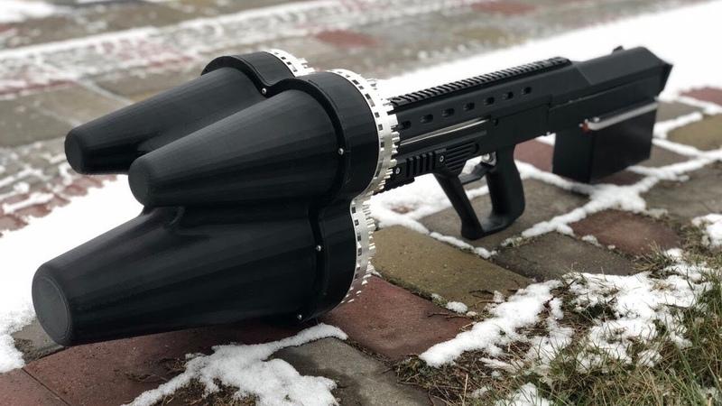 Система противодействия дронам RIFF и гражданская версия винтовки Малюк