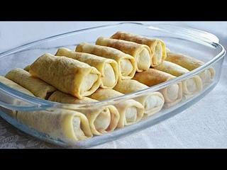 Добавьте в тесто крахмал. Тоненькие, эластичные и пекутся без проблем /Starch pancakes