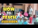Как учить детей современным танцам хореография. Часть 1.