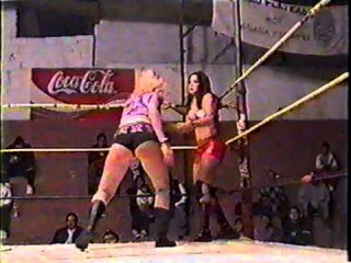 Nikki Roxx/April Hunter vs. Dark Angel/Christina Ricci