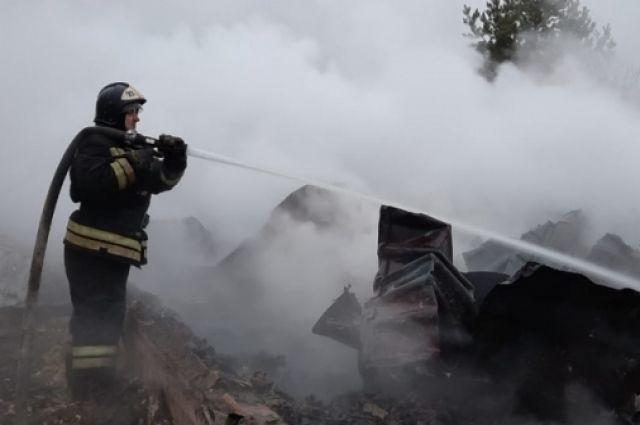 Ферма с животными сгорела в КЧР