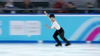Произвольная программа. Юноши. Фигурное катание. Юношеские Олимпийские игры 2020