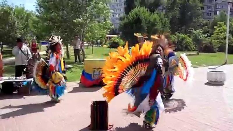 Концерт эквадорских индейцев Sumac Kuyllur в Волгограде 22 06 2014 часть 10 14