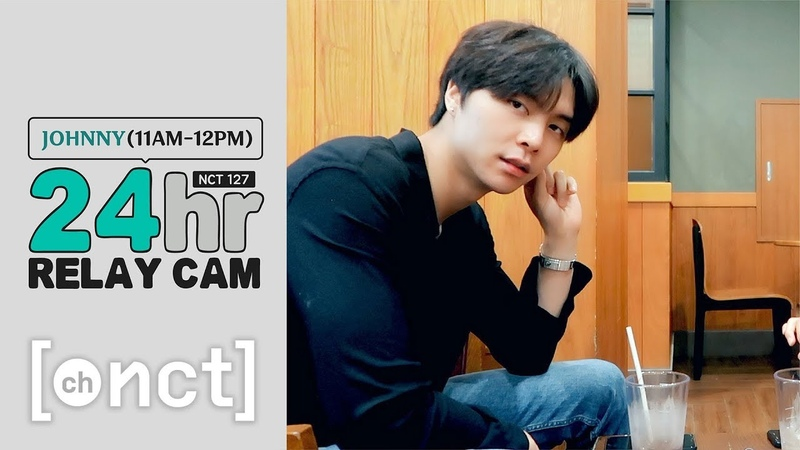🕐JOHNNY 11am 12pm|NCT 127 24hr RELAY CAM With 재현