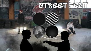 [Fest] BTS (방탄소년단) - Boy Meets Evil & Lie + intro Fake love dance cover