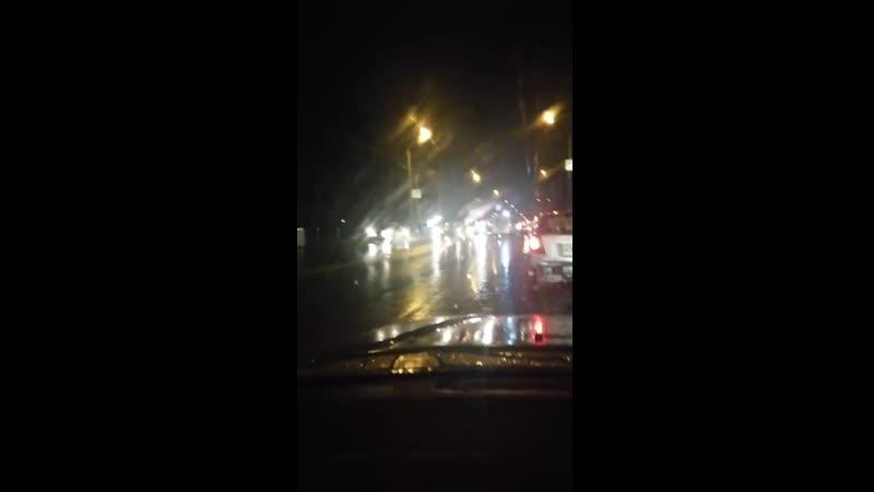Авария на ул Дианова 22