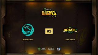 Beastcoast vs Team Brazil, Monster Energy DOTA Summit 13: Americas, bo3, game 2 [Adekvat]