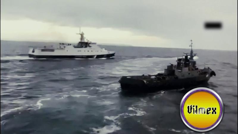 Rus gemisinin Ukrayna gemisine saldırı anı Abone ol ↓