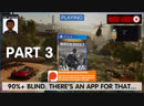 Can we hack it? Yes we can! It's Watch Dogs 2 90% Blind | Part 3
