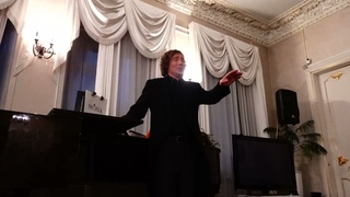 Москва. Дом-музей М.Н.Ермоловой. Посвящение С.Я.Лемешеву. Поет Евгений Южин (фрагменты)