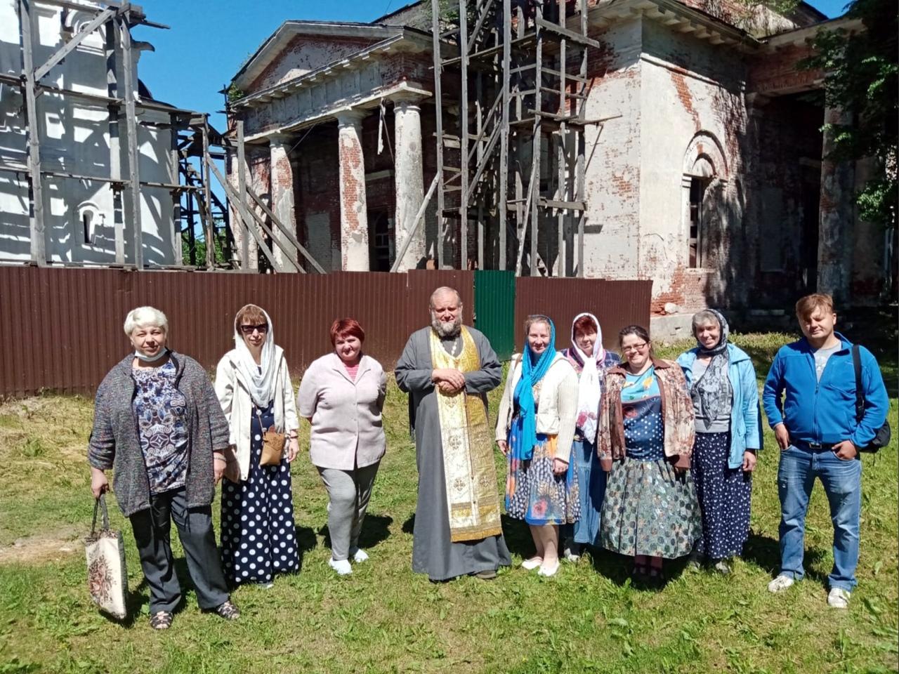 Поездка в Кушалино-Орша-Савватьев