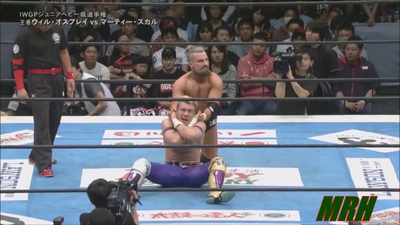 Will Ospreay vs Marty Scurll NJPW Sakura Genesis 2018 Highlights