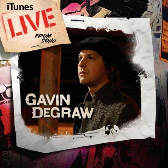 Gavin DeGraw album Live From Soho