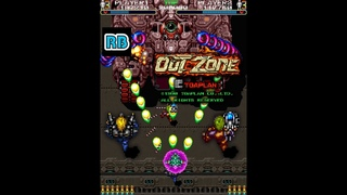 1990 [60fps] Out Zone 2Players Loop3