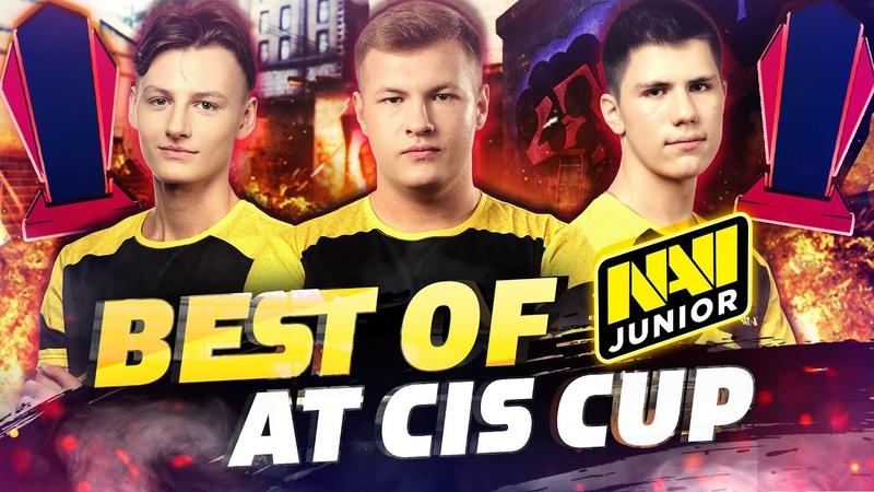NAVI Junior Порвали Всех на Квалах BLAST Premier CIS Cup