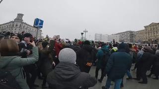 Грот - Вершители судеб (антипутинский протест, Россия 2021)
