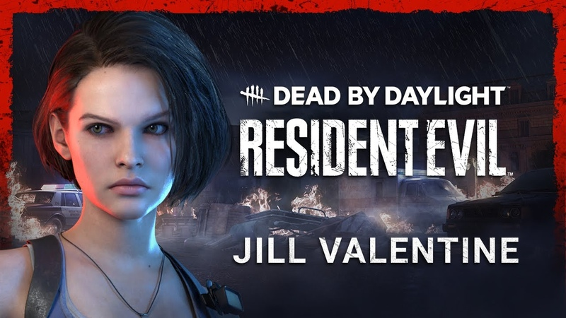 Dead by Daylight Resident Evil Jill Valentine Trailer