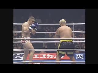 Mirko Cro Cop vs Mark Hunt. K-1 World Grand Prix 2002 in Nagoya 1080p