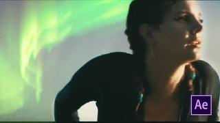 СЕВЕРНОЕ СИЯНИЕ в Adobe After Effects! Разбор Lana Del Rey - Norman Fu**ing Rockwell !