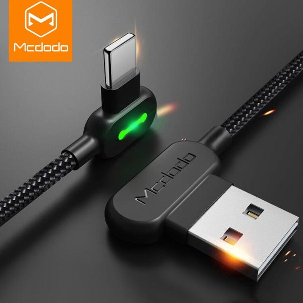MCDODO 3 м 2.4A светодиодный зарядный кабель