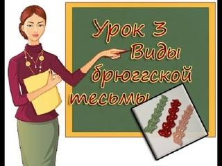 УЧИМСЯ ВЯЗАТЬ БРЮГГЕ  УРОК 3 ВИДЫ БРЮГГСКОЙ ТЕСЬМЫ  LEARNING TO KNIT BRUGES  LESSON 3  BRUGES BRAID